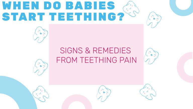 WHEN DO BABIES START TEETHING, babies start teething