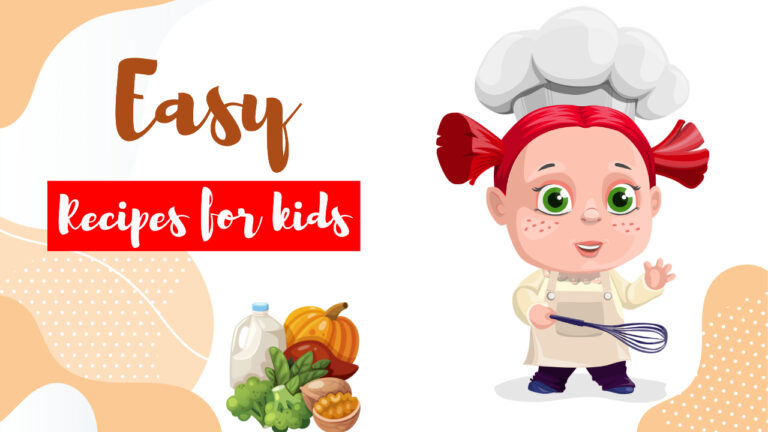 easy recipes for kids, cooking without fire for kids, fireless cooking for kids