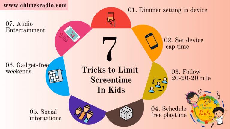 Limit Screentime in Kids