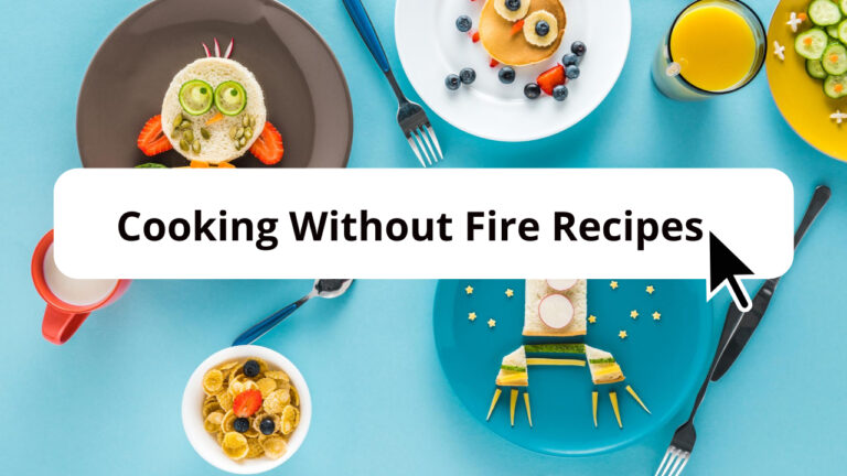 cooking without fire