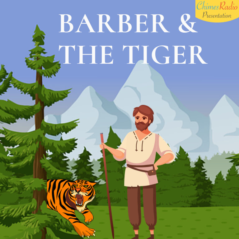 Barber and the tiger